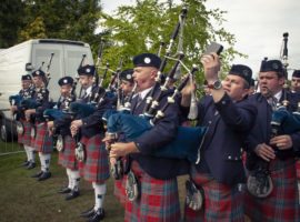 Scottish Pipe Band Championships, Dumbarton, 2009. ©JohnSlavin@designfolk.com/Bagpipe.news