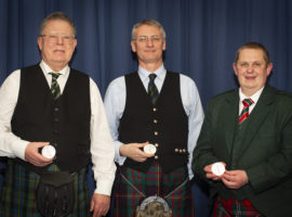 Dugald MacLeod, Stuart Robinson and John Hunt.
