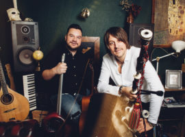 Ross Ainslie & Ali Hutton: musicians joined and hip