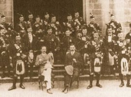 From humble beginnings — the story of the Army School of Piping; part 1