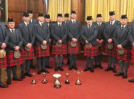 Royal Scots Dragoon Guards – Mixed Ensemble winners.