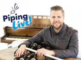 Finlay MacDonald appointed Artistic Director for Piping Live! 2020