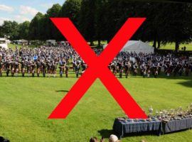 UK Pipe Band Championships cancelled