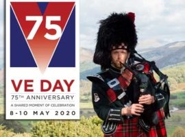 VE Day 75 date change / 'Pipes up!' on Thursday