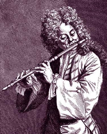 Jacques Martin Hotteterre (1674–1763). He and his family were reputed to have been fine woodwind players.