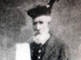 Simon Fraser photographed in 1908.