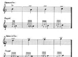 The notation of piobaireachd