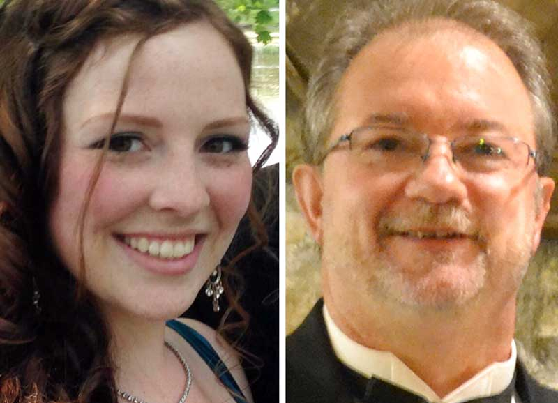 Abbigail Cowbrough and Bruce Gandy.