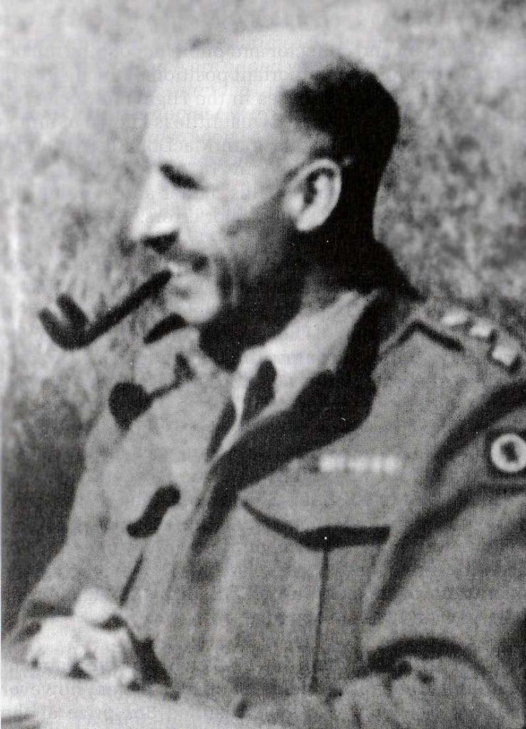General Frank Richardson judging in 1946.