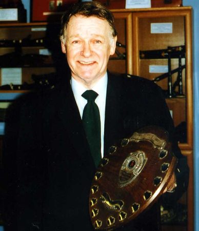 Hugh in 2005 after winning the overall C Grade overall title.