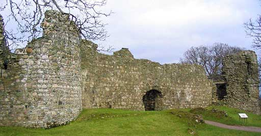 Little remains of Inverlochy Castle today.