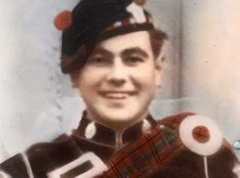 Pipe Major John Whyte.