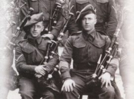 Aldershot 1939 and a famous regimental pipe band prepares for war