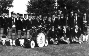 78th Fraser Highlanders in 1987