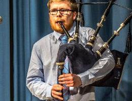 Piping Degree graduates / Owen MacNiven