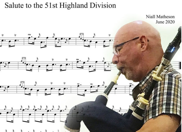 'Salute to the 51st Highland Division' – a new tune from Niall Matheson / CPA online results, C Grade