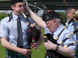 The acoustical environment of the highland bagpipe out of doors, part2
