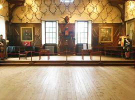 The Ballroom of Blair Castle.