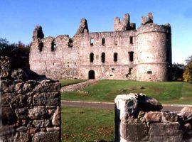 Balvenie Castle.