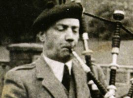 Famous pipers: PM John MacLean
