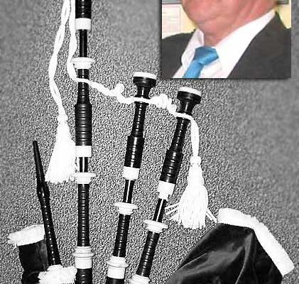 Tom Dingwall's pipes to be auctioned / Still no sign of band practices resuming