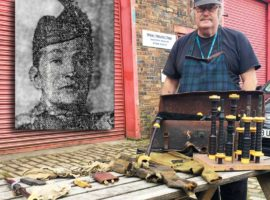 Somme hero's pipe brought back to life