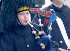 Scots Trads / RSDG's Remembrance performance