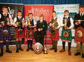 Prizewinners from the Vale's 2017 competition.