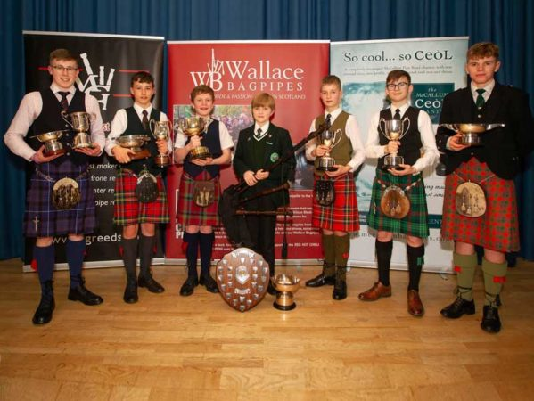 Prizewinners from the 2020 competition.