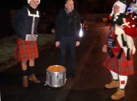 Scottish pipe band's incredible Christmas fundraiser / Photo mysteries / NPC's Adult Gatherings online for 2021