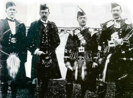 Angus' years at the Northern Meeting and the great pipers he heard