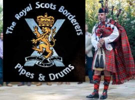 1 SCOTS Pipes & Drums ends