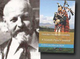 Pipe Major Evan Macrae book / Skye Gathering