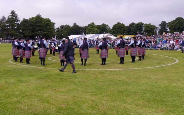 Variation in pipe band competition results and difficulties of change
