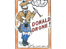 Donald Drone on pipeline / SFU's