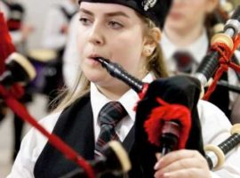 Eilidh's mother tells inquiry how her world was 'torn apart' by terrorist bombing / Live solo piping in Scotland this weekend