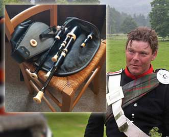 Gordon Duncan's smallpipes for sale / Ian's ivory chanter donated to Museum of Piping