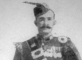 Rare photo of piping legend / Grandfathers clocked in Kilmarnock