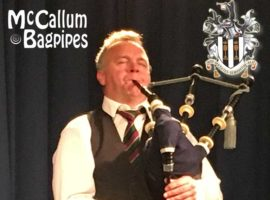 McCallum's to supply bagpipe for Queen's celebrations / Donald Drone enjoys the 'craic' at band practice