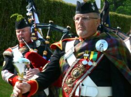 The Sherriff is coming / Atholl Highlanders to mark members' 50 years' service / Books imminent