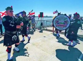 Pipers lead the way at 9/11 commemorations / Harpenden results / CLASP workshop