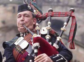 P.M. R. J. Gillies' pipes / Dugald Gillespie / Kilberry Castle for sale / Roddy's recital