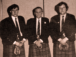 Glasgow Skye Pipe Band  3P/Majors 1991.
