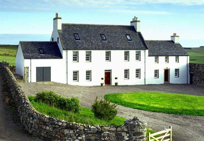 Historic former MacDonald clan seat restored
